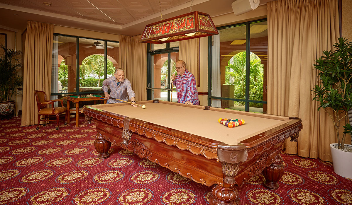 The Palace Royale Billiard